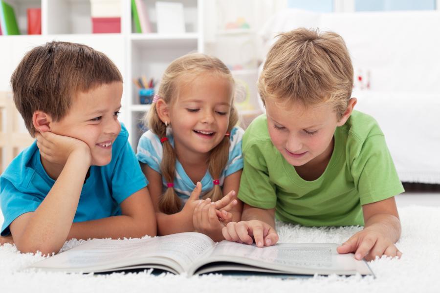 Børn der læser