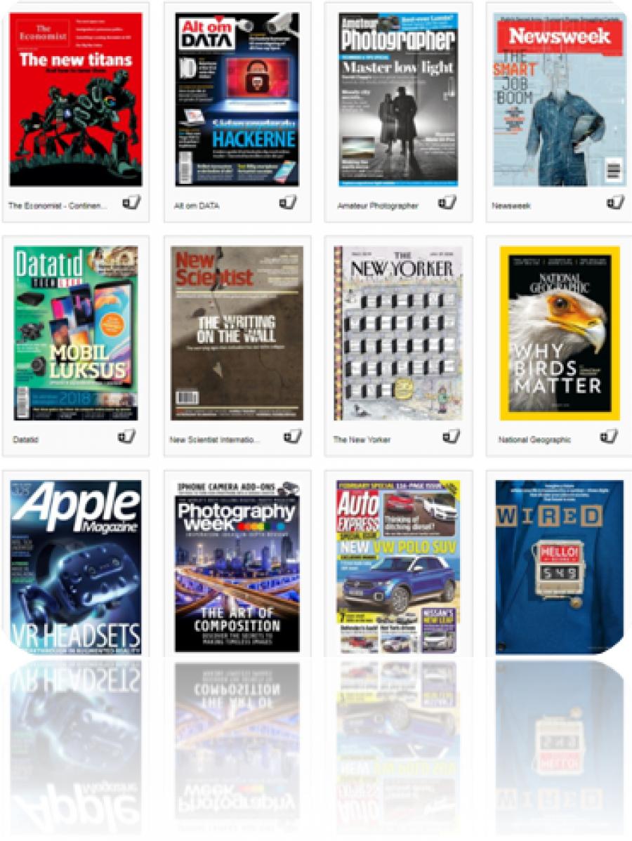 Tidsskrifter og magasiner